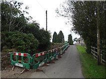 NZ1290 : Road Works at Witton Shields by Les Hull