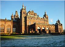 NS5666 : Cold day, Kelvingrove Museum by Richard Sutcliffe