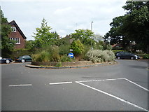 TQ2688 : Roundabout on Wildwood Road by JThomas