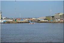 TF6120 : Entrance to Kings Lynn Docks by N Chadwick
