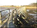 NT4780 : Footbridge over the Peffer Burn by M J Richardson