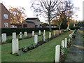 TF4721 : War Graves at Sutton Bridge by Adrian S Pye