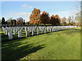 TL4859 : Second World War Air Force graves by Adrian S Pye