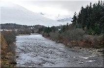 NN2939 : River Orchy by Jim Barton