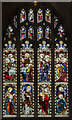 TL1998 : East window, Peterborough Cathedral by Julian P Guffogg