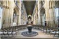 TL1998 : Interior, Peterborough Cathedral by J.Hannan-Briggs
