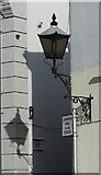 SX9265 : Lamp and shadow, St Marychurch by Derek Harper