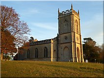 SO8845 : Afternoon light on Croome D'Abitot church by Philip Halling