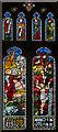 TL1998 : South transept window, Peterborough Cathedral by Julian P Guffogg