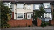 TQ1883 : Houses on the North Circular Road, Park Royal by David Howard