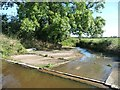 SJ4635 : Overflow weir, Llangollen canal, west of Bridge 47 by Christine Johnstone