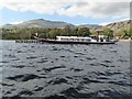 """SD3096 : Steam yacht """"Gondola"""" at its jetty on Coniston Water by David Smith"""