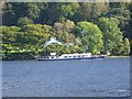 """SD3094 : Steam yacht """"Gondola"""" steaming south along Coniston Water by David Smith"""