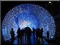 TG2208 : The Tunnel of Light on Hay Hill (blue sequence, 2) by Evelyn Simak