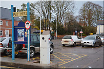 SS9512 : Tiverton : William Street Car Park by Lewis Clarke