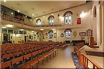 TQ1068 : St Mary, Sunbury-on-Thames - Interior by John Salmon