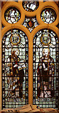TQ1068 : St Mary, Sunbury-on-Thames - Stained glass window by John Salmon