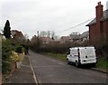 SO9769 : Independent Fire Protection van, St Godwald's Road, Bromsgrove by Jaggery