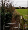 SO9669 : Monarch's Way public footpath, Bromsgrove by Jaggery