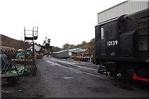 NZ8204 : Motive power depot by DS Pugh