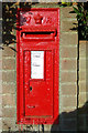 TG0822 : Pettywell Victorian Postbox by Adrian Cable