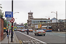 O1634 : Dublin Amiens Street, northward past Connolly station, 1993 by Ben Brooksbank