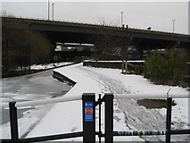 SP0990 : NCN 535 in January - Aston, Birmingham by Martin Richard Phelan