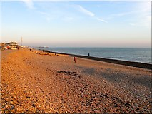 TQ2704 : Sackville Beach, Hove by Simon Carey