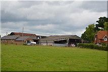 TQ5347 : Barns, Leigh Park Farm by N Chadwick