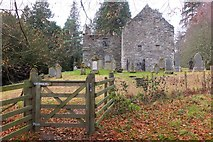 NN8666 : St Bride's Kirk, Old Blair by Jim Barton