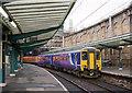 NY4055 : Newcastle train in Carlisle station - December 2016 by The Carlisle Kid