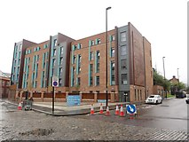 NZ2463 : Student Accommodation, Forth Street, Newcastle upon Tyne by Graham Robson