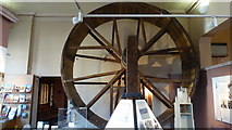 SK3871 : Chesterfield Museum & Art Gallery - Original windlass from St Mary's & All Saints Church by Colin Park