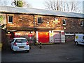 NY5360 : Royal Mail Delivery Office, Brampton by Rose and Trev Clough