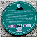 SJ3250 : Green plaque on the wall of the Turf pub, Wrexham by Jaggery