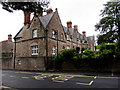 ST5546 : St Thomas Terrace, Wells by Jaggery