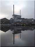 SE5023 : Allied glass works, Knottingley by Chris Allen