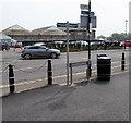 ST3048 : England Coast Path signpost, Burnham-on-Sea by Jaggery