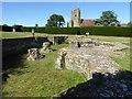 TQ7515 : Abbey Crypt, Battle Abbey by Philip Halling