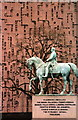 SJ4065 : Equestrian Statue of Viscount Combermere by Jeff Buck