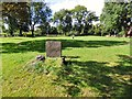 SJ9091 : Higson Gravestone by Gerald England
