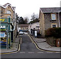 ST2096 : Narrow side road from High Street to Victoria Terrace, Newbridge by Jaggery