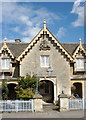 ST8082 : The Old Post Office, High St, Badminton, Gloucestershire 2011 by Ray Bird