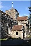 TQ9220 : St Mary's church, Rye by Philip Halling