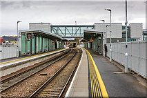 NT1772 : Edinburgh Gateway Train Station by Garry Cornes