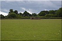 TQ5246 : Pillbox in field by N Chadwick
