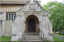 TQ5246 : Church of St Luke - porch by N Chadwick