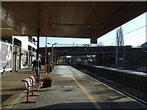 SP3378 : Platform 1, Coventry Railway Station by JThomas