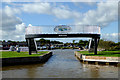 SJ6544 : Over Water Marina north of Audlem in Cheshire by Roger  Kidd