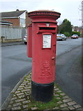 SE2853 : Elizabeth II postbox on Beckwith Road by JThomas